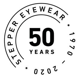 В этом году компания STEPPER eyewear празднует свой юбилей – 50 лет со дня основания