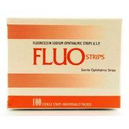 Офтальмологические тест-полоски Fluo Strips №100 BIOGLO Флуа стрипс
