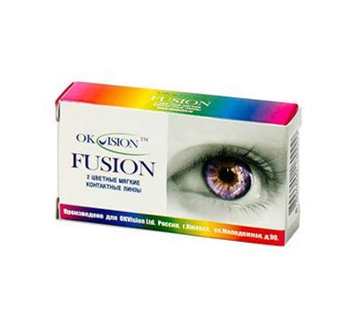 Цветные контактные линзы Fusion
